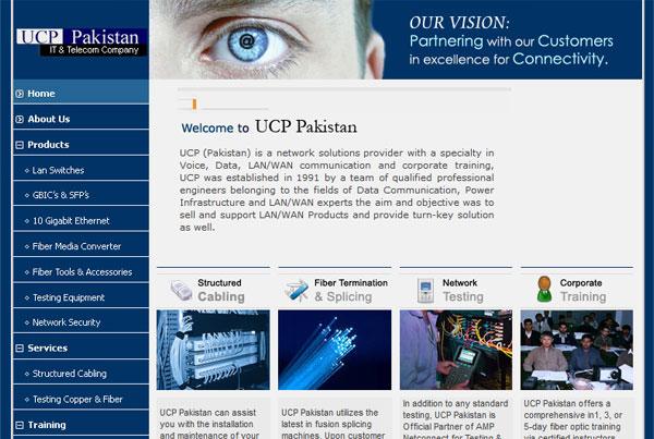 UCP Pakistan Website