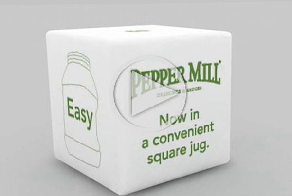 Pepper Mill logo animation