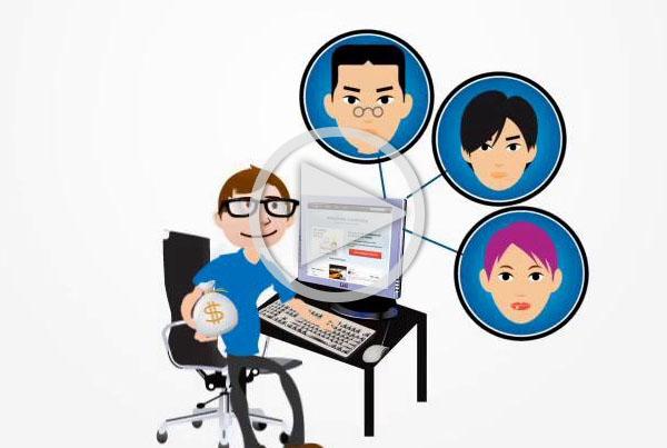Crowdfunding Demo Animation