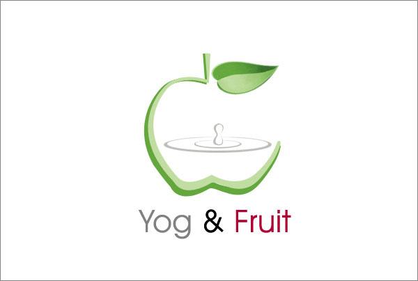 Yog &Fruit logo